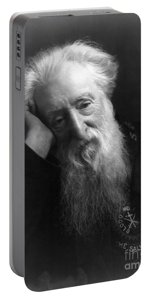 1907 Portable Battery Charger featuring the photograph William Booth (1829-1912) by Granger