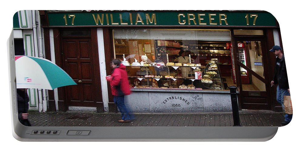 Ireland Portable Battery Charger featuring the photograph William Greer by Tim Nyberg
