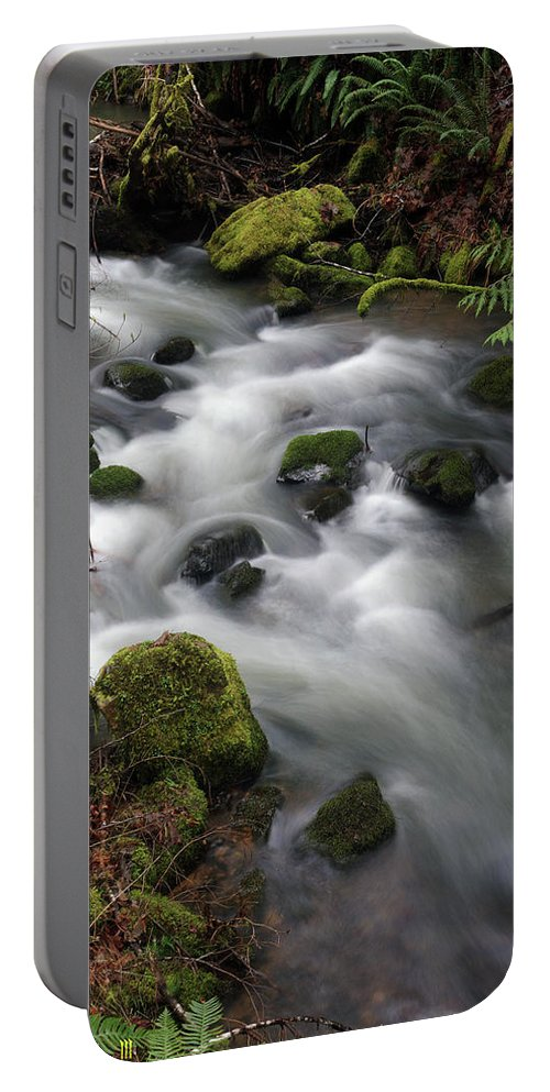 Nature Portable Battery Charger featuring the photograph Wilson Creek #15 by Ben Upham III