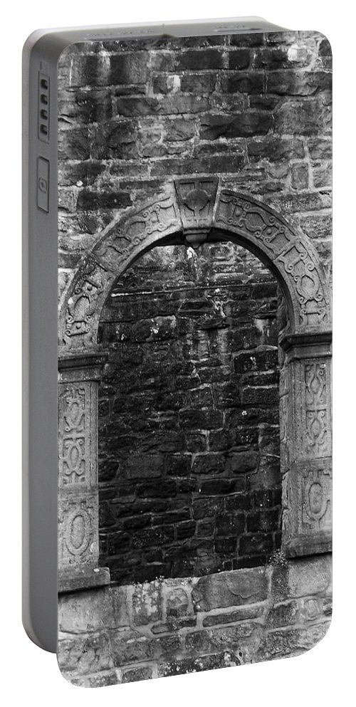 Irish Portable Battery Charger featuring the photograph Window At Donegal Castle Ireland by Teresa Mucha