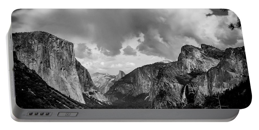 Yosemite Portable Battery Charger featuring the photograph Window Into Yosemite by TK Goforth