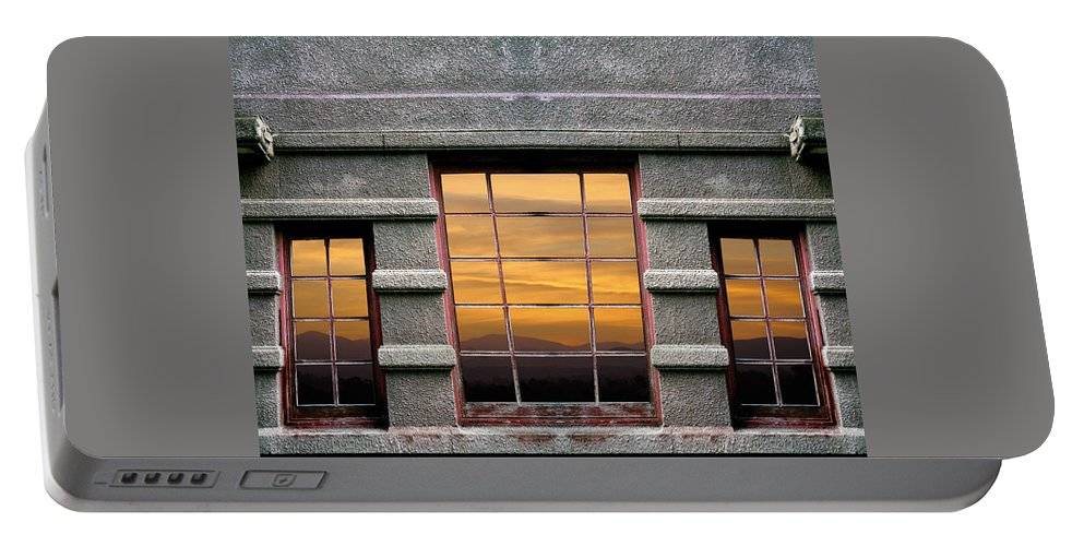 Hope Portable Battery Charger featuring the photograph Window Of Hope by Munir Alawi
