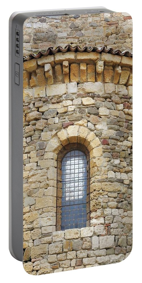 Europe Portable Battery Charger featuring the photograph Window Uno - Italy by Jim Benest