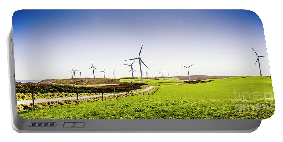 Landscape Portable Battery Charger featuring the photograph Winds From West Woolnorth by Jorgo Photography - Wall Art Gallery