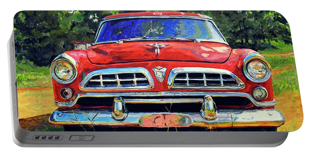 Car Portable Battery Charger featuring the painting Windsor by Neil Hatten