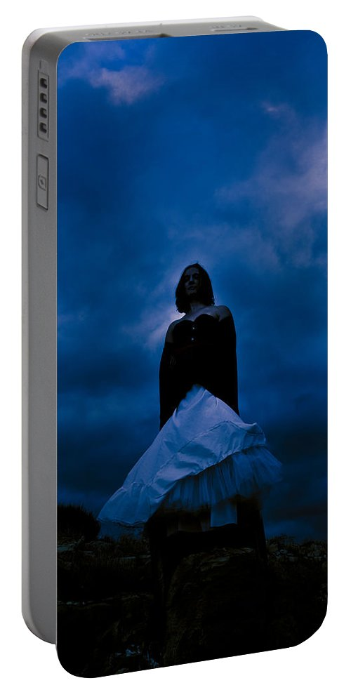 Mystery Portable Battery Charger featuring the photograph Windy Mistery by Scott Sawyer