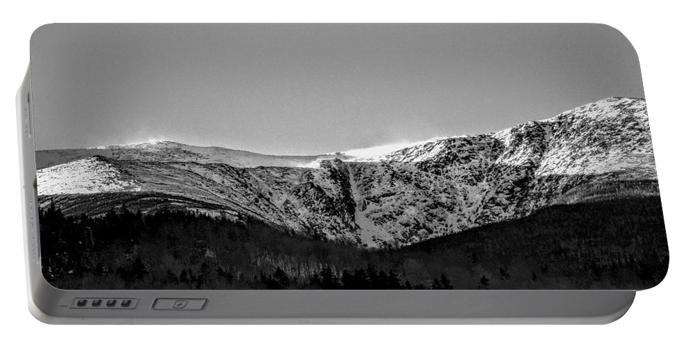 New Hampshire Portable Battery Charger featuring the photograph Windy Ridge by Dave Pellegrini