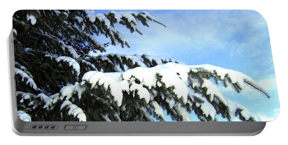 Winter Portable Battery Charger featuring the photograph Winter Boughs by Will Borden