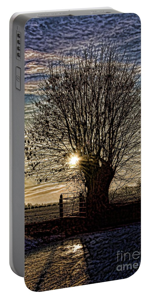 Dutch Portable Battery Charger featuring the photograph Winter In Holland 3 by Casper Cammeraat