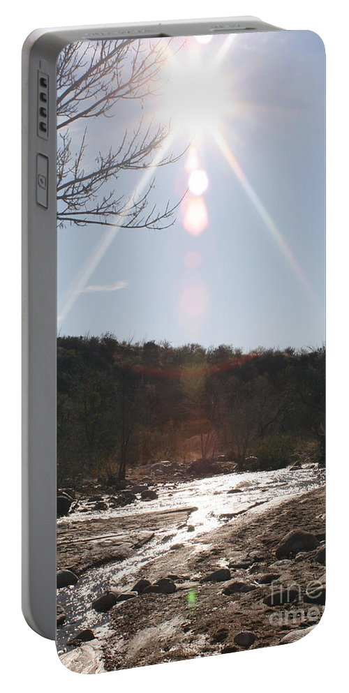 Winter Portable Battery Charger featuring the photograph Winter Light by Nadine Rippelmeyer