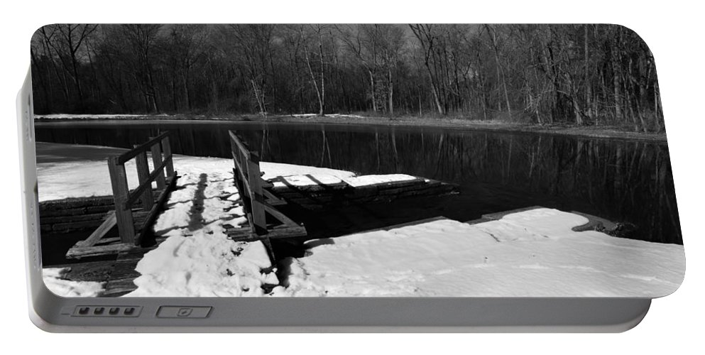 Winter Portable Battery Charger featuring the photograph Winter Park 2 by Charles HALL