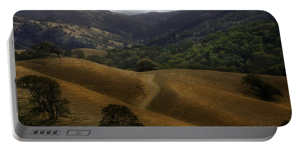 Landscape Portable Battery Charger featuring the photograph Winter Rain November 09 by Karen W Meyer