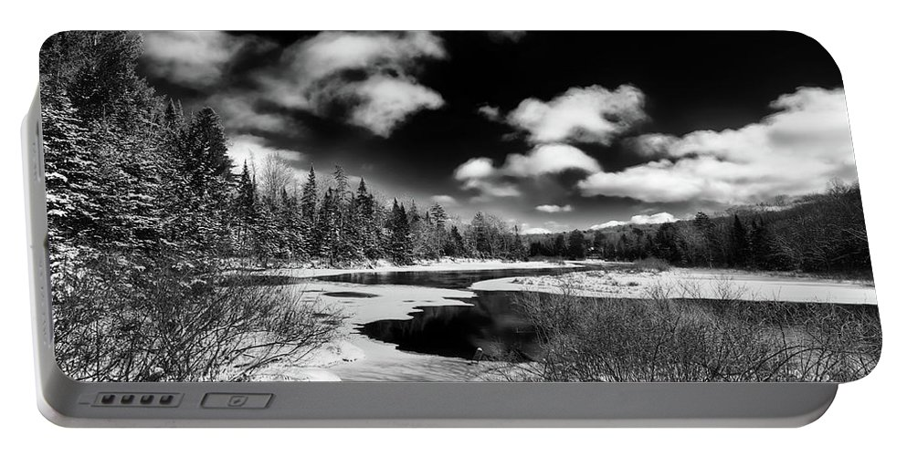 Landscapes Portable Battery Charger featuring the photograph Winter Solitude by David Patterson