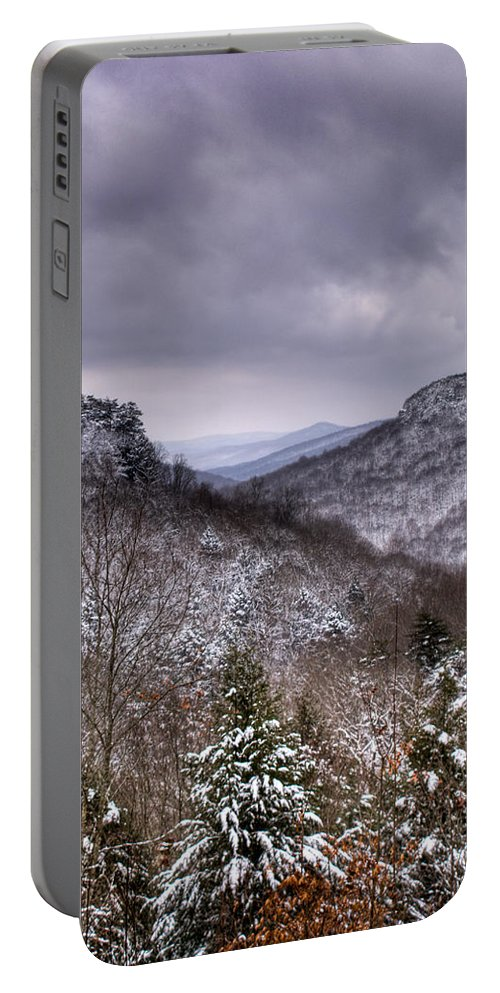 Cumberland Portable Battery Charger featuring the photograph Winter Valley by Douglas Barnett