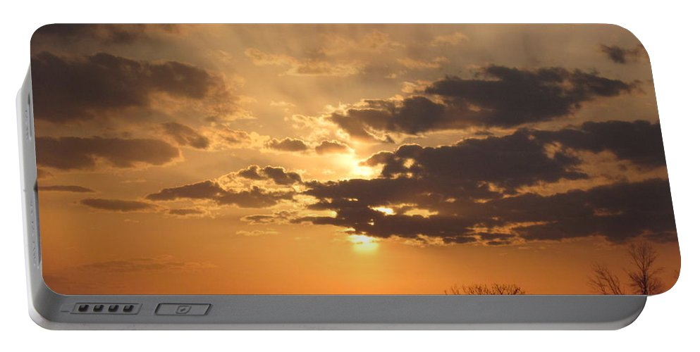 Winter Portable Battery Charger featuring the photograph Winters Dawn by Tommy Anderson