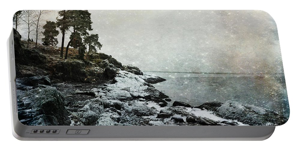 Norway Portable Battery Charger featuring the photograph Wintertide by Randi Grace Nilsberg