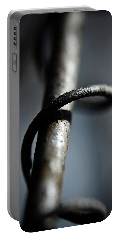 Wire Portable Battery Charger featuring the photograph Wire by Danielle Silveira