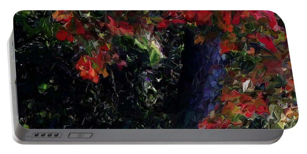 Fine Art Portable Battery Charger featuring the digital art Wonder Tree Detail 2 by David Lane