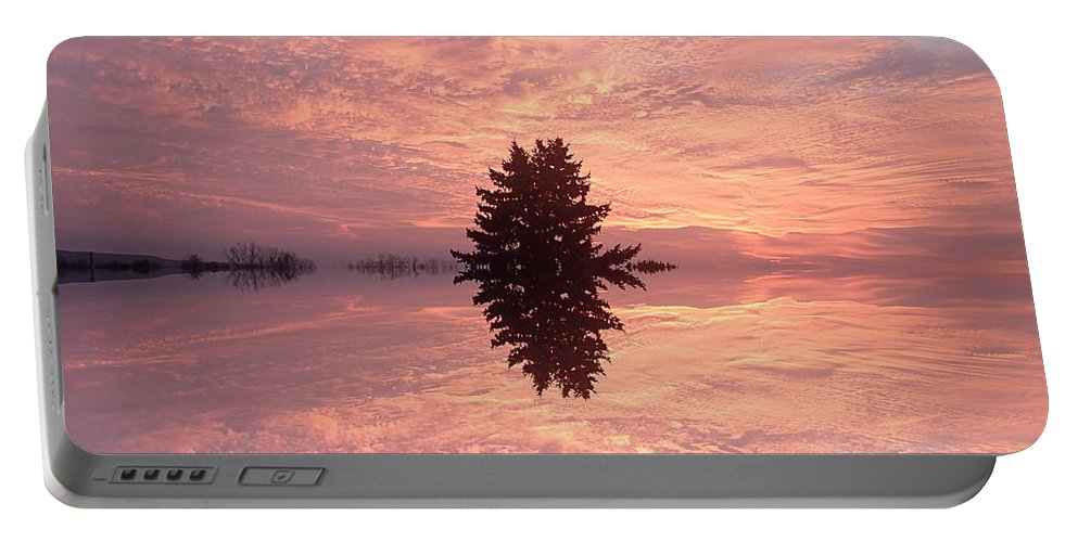 Poconos Portable Battery Charger featuring the photograph Wondrous Clouds    by Christina Verdgeline