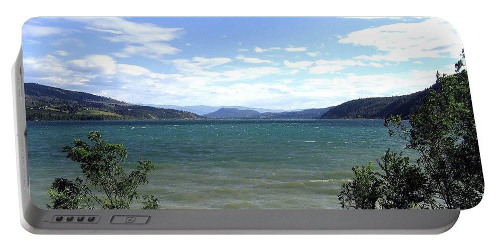 Wood Lake Portable Battery Charger featuring the photograph Wood Lake In Summer by Will Borden