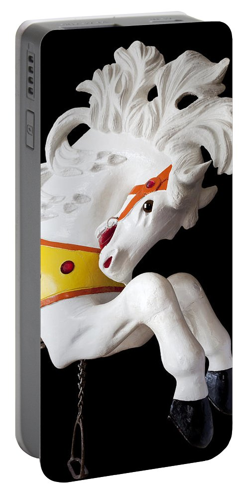 Wooden Horse Portable Battery Charger featuring the photograph Wooden Horse 2 by Kelley King