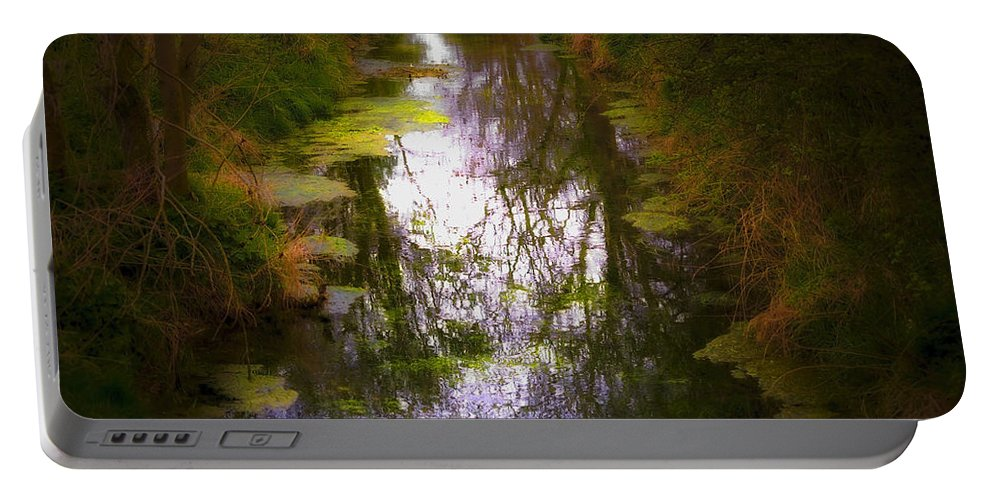 Woods Portable Battery Charger featuring the photograph Woods by Svetlana Sewell