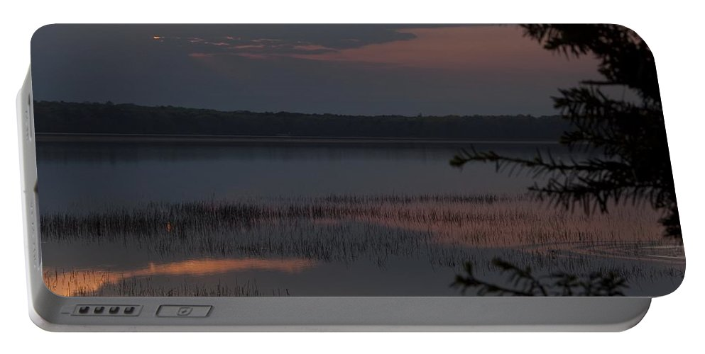 Sunrise Portable Battery Charger featuring the photograph Worden's Pond Sunrise 2 by Steven Natanson
