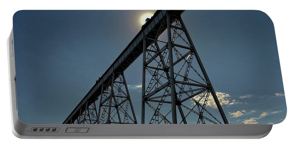 Eastern Portable Battery Charger featuring the photograph Working On The Railroad by Albert Seger