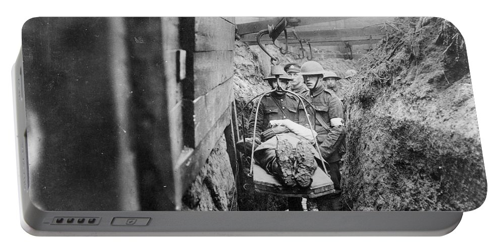 1910s Portable Battery Charger featuring the photograph World War I: France by Granger