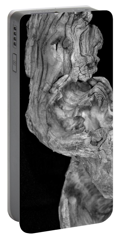 (c) Paul Davenport Portable Battery Charger featuring the photograph wudu 2 XXXXIII by Paul Davenport