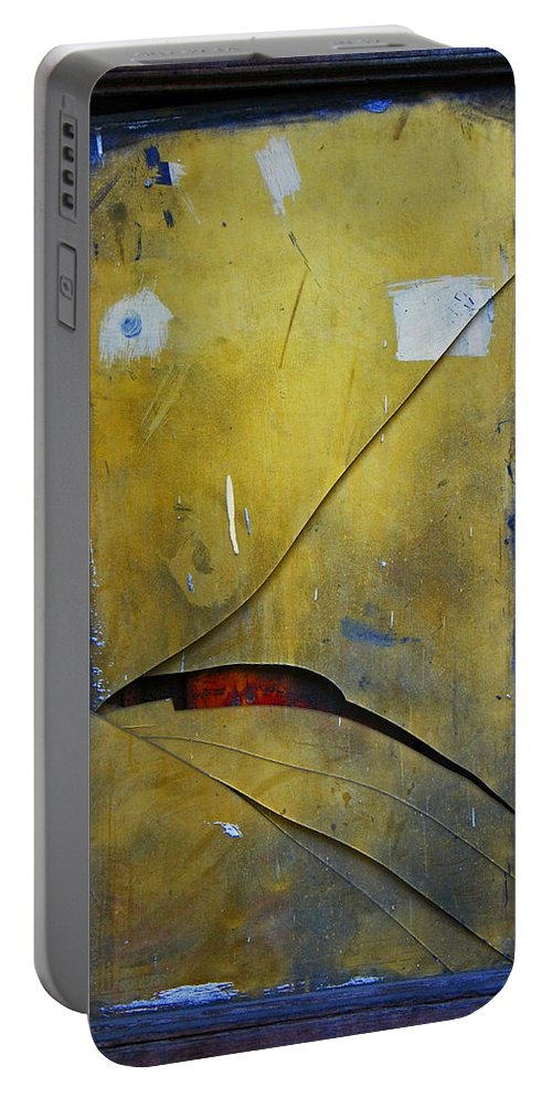 Abstract Portable Battery Charger featuring the photograph Xalapa Miro by Skip Hunt