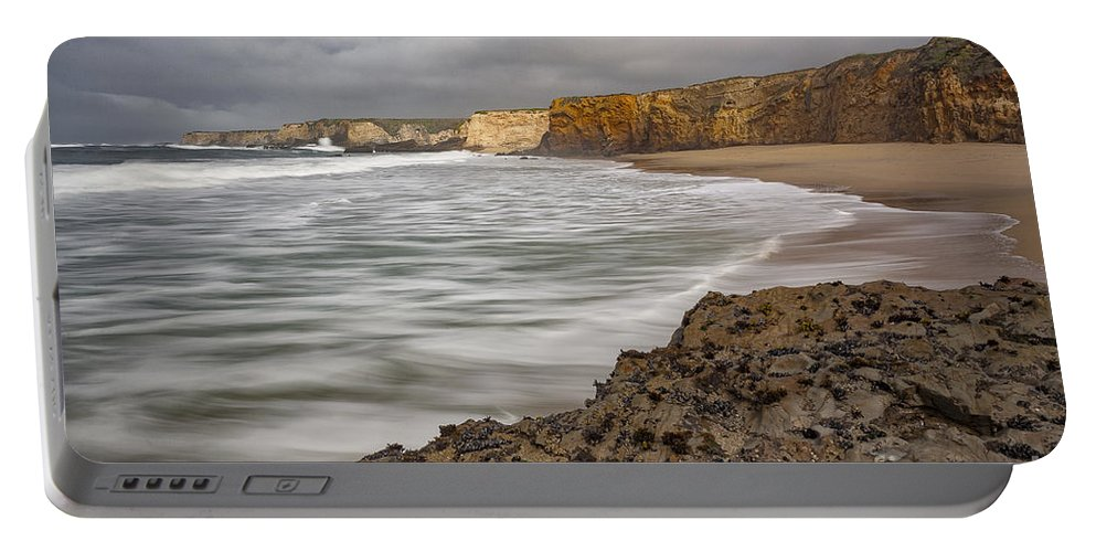 California Portable Battery Charger featuring the photograph Yellow Bank Cliffs by Richard Sandford