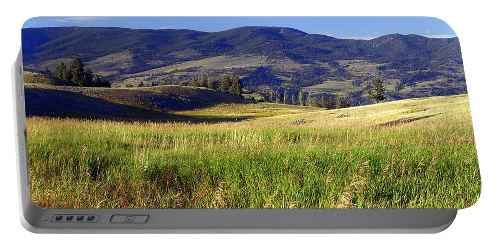 Yellowstone National Park Portable Battery Charger featuring the photograph Yellowstone Landscape 3 by Marty Koch