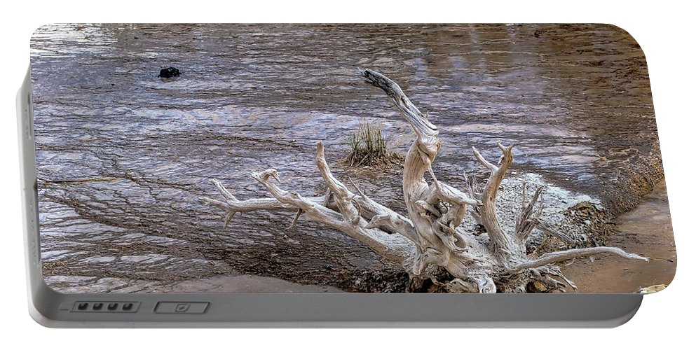 Yellowstone National Park Portable Battery Charger featuring the photograph Yellowstone National Park 1 by Angela Voss