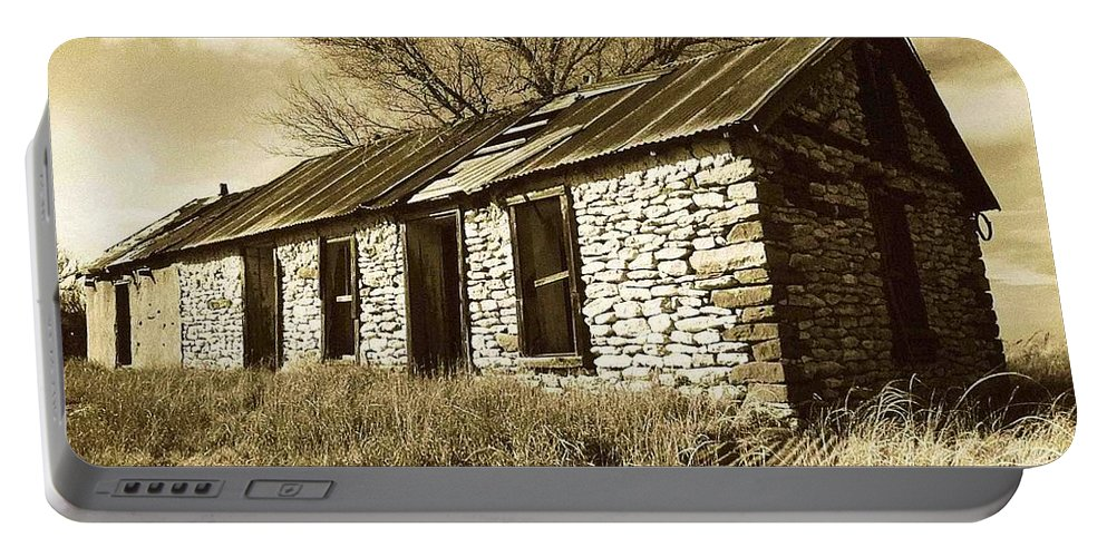 New Mexico Portable Battery Charger featuring the photograph Yeso New Mexico 1 by Nelson Strong