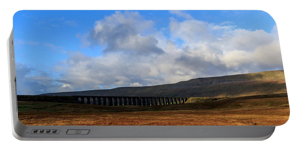 Landscape Portable Battery Charger featuring the photograph Yorkshire Dales - 26 by Chris Smith