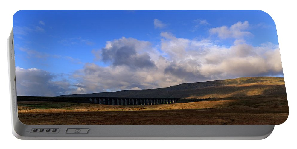Landscape Portable Battery Charger featuring the photograph Yorkshire Dales - 27 by Chris Smith