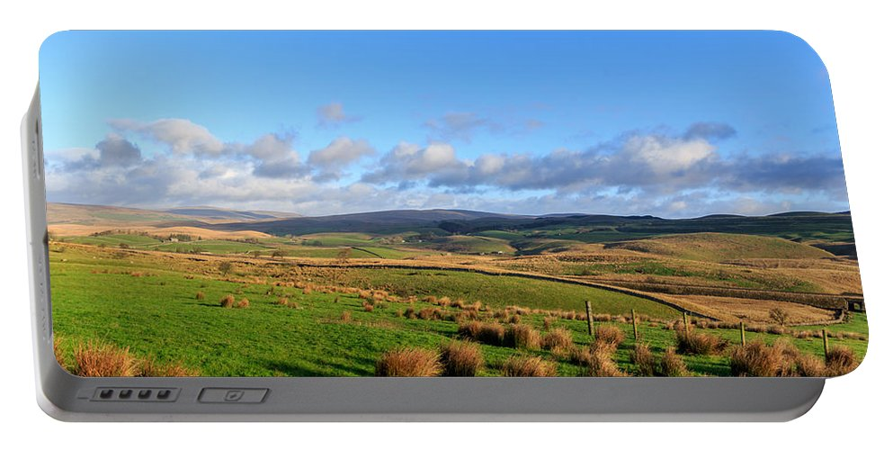 Landscape Portable Battery Charger featuring the photograph Yorkshire Dales - 28 by Chris Smith