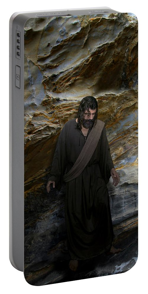 Alex-acropolis-calderon Portable Battery Charger featuring the photograph You Are My Hiding Place And My Shield 2 by Acropolis De Versailles