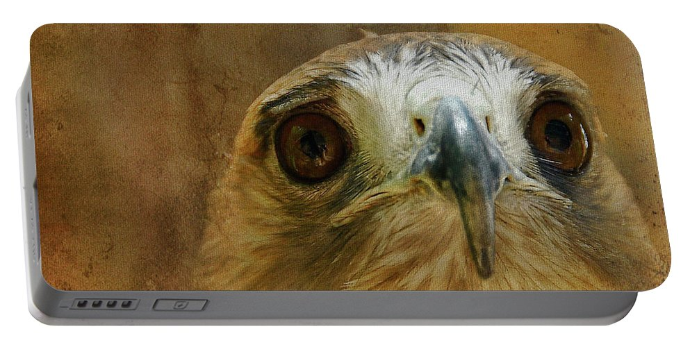 Hawk Portable Battery Charger featuring the photograph Your Majesty by Lois Bryan
