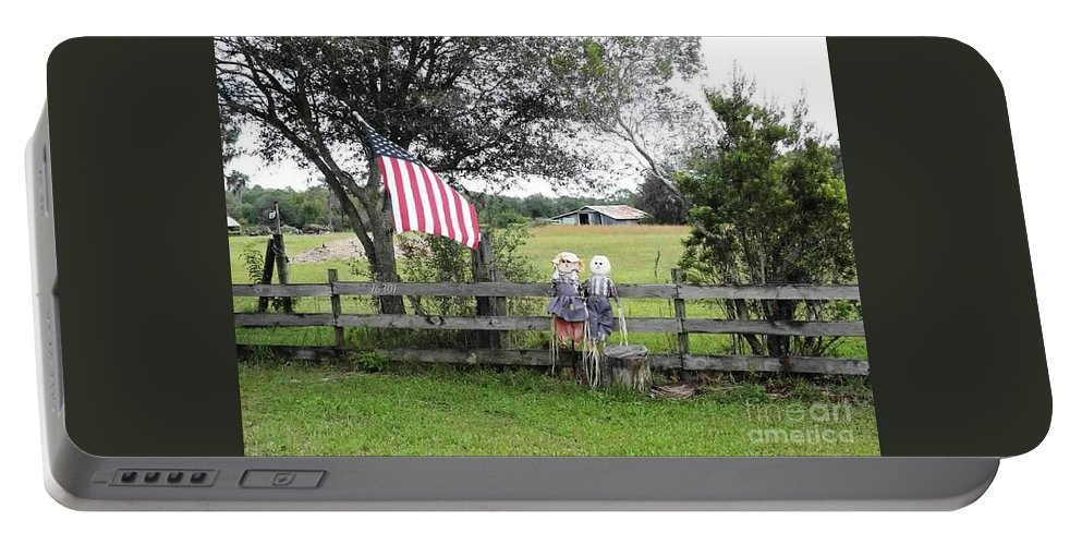 Couple Portable Battery Charger featuring the photograph A Lovely Couple by Beth Williams