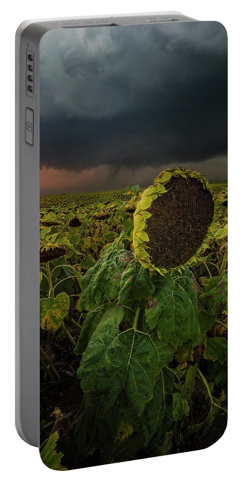 Tornado Portable Battery Charger featuring the photograph Twisted 1 by Aaron J Groen