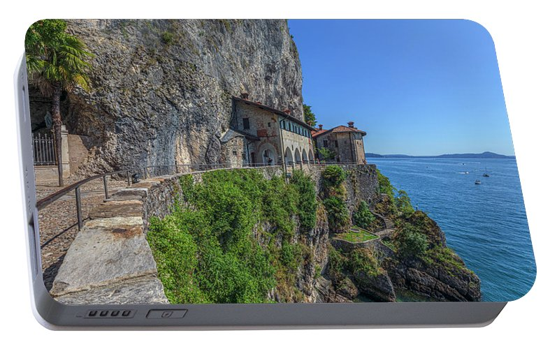 Santa Caterina Del Sasso Portable Battery Charger featuring the photograph Santa Caterina Del Sasso - Italy by Joana Kruse