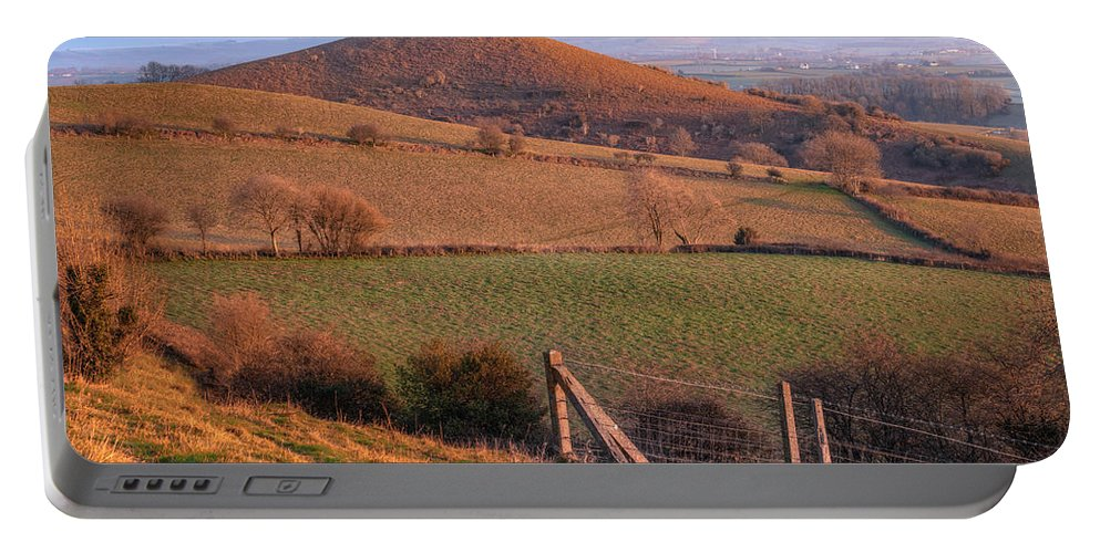 Colmers Hill Portable Battery Charger featuring the photograph Colmers Hill - England by Joana Kruse
