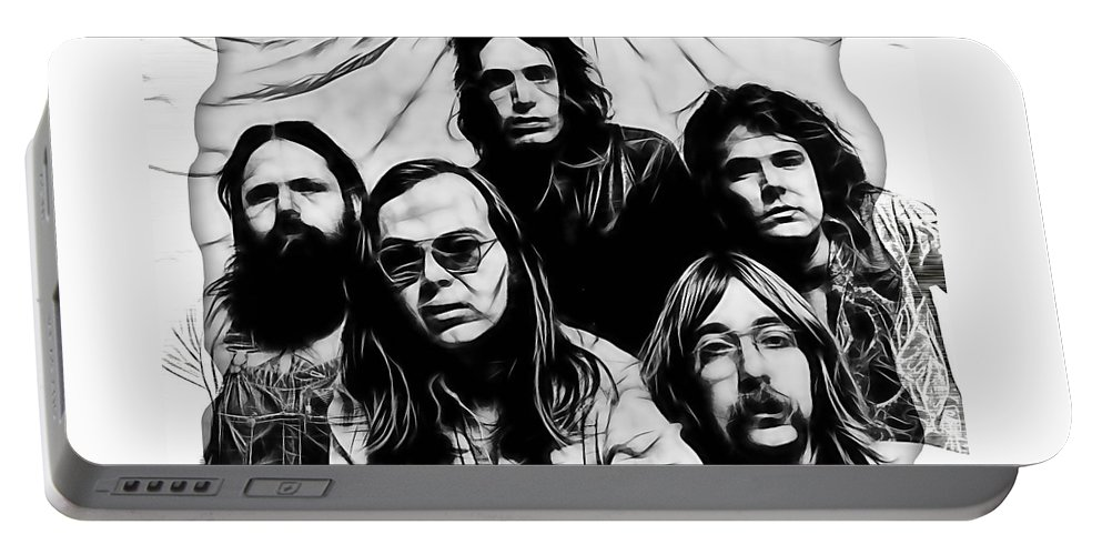 Steely Dan Portable Battery Charger featuring the mixed media Steely Dan Collection by Marvin Blaine
