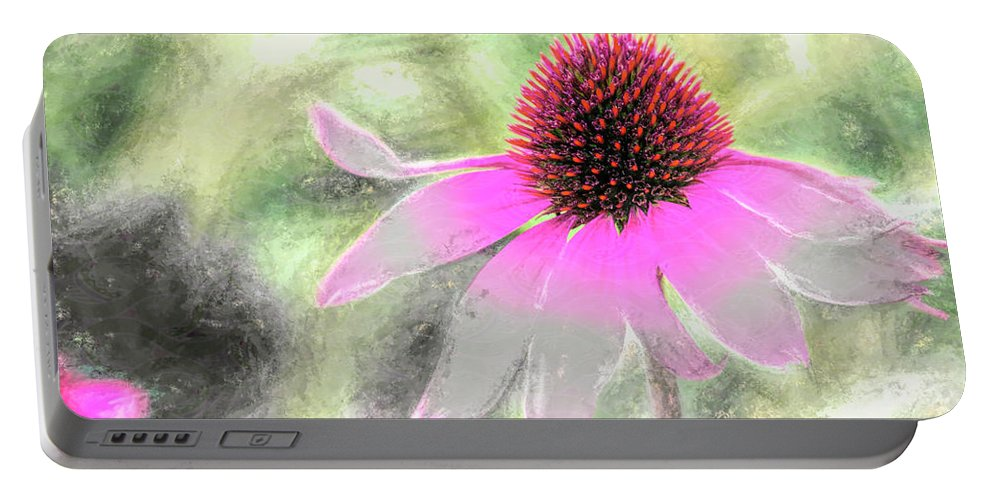 Blossom Portable Battery Charger featuring the photograph After Me by Jean OKeeffe Macro Abundance Art