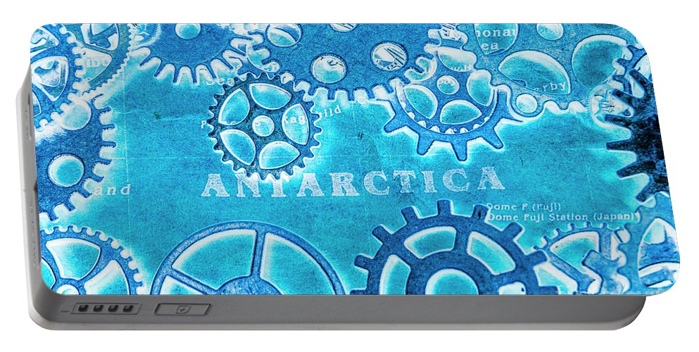 Antarctica Portable Battery Charger featuring the photograph Ancient Antarctic Technology by Jorgo Photography - Wall Art Gallery