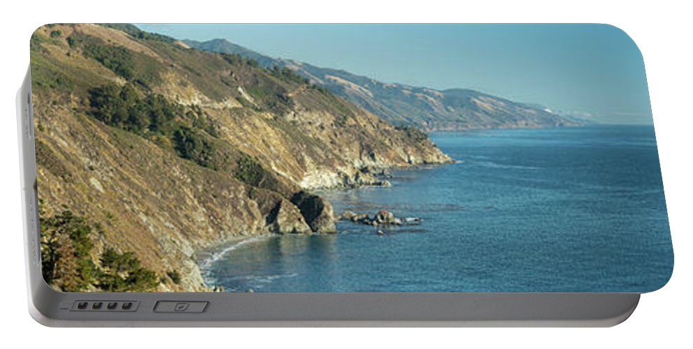 Big Portable Battery Charger featuring the photograph Big Sur Sunset Light by Steve Gadomski
