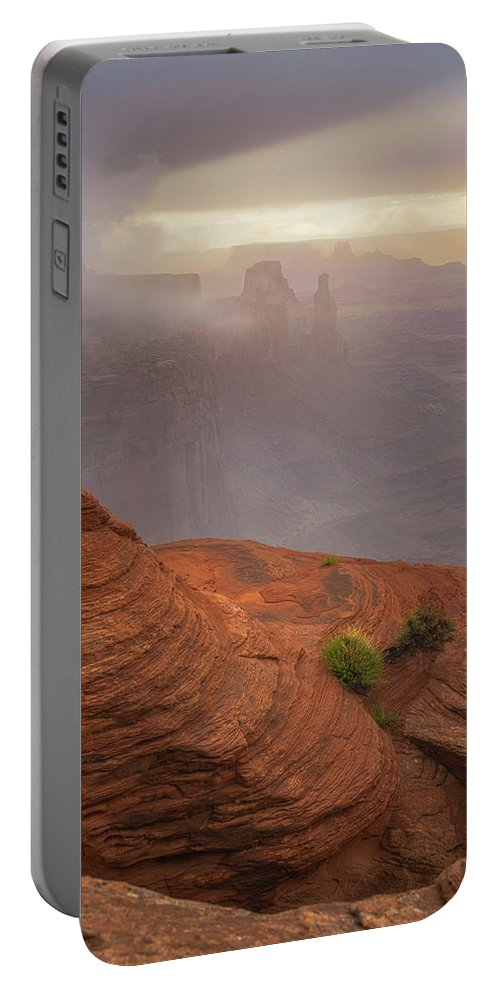 Utah Portable Battery Charger featuring the photograph Canyon Moods by Darren White