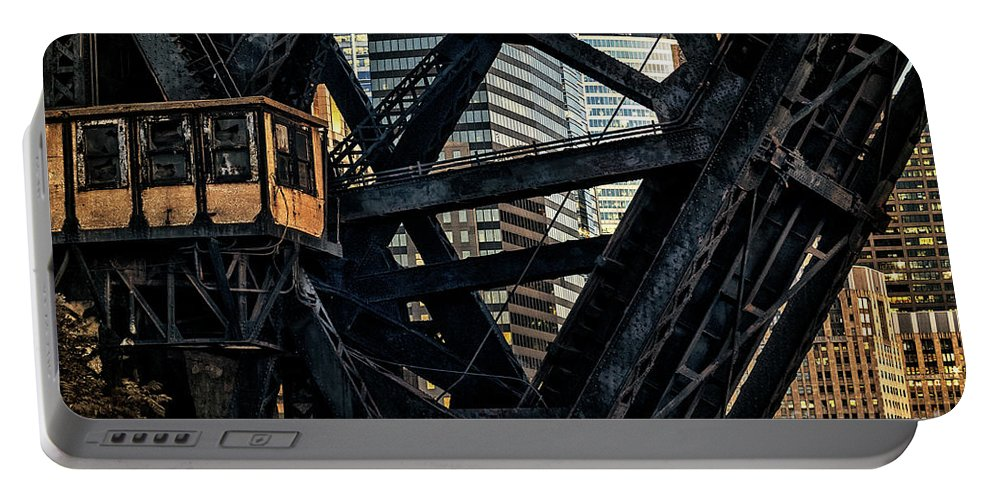 Chicago Portable Battery Charger featuring the photograph Chicago by Bruno Passigatti